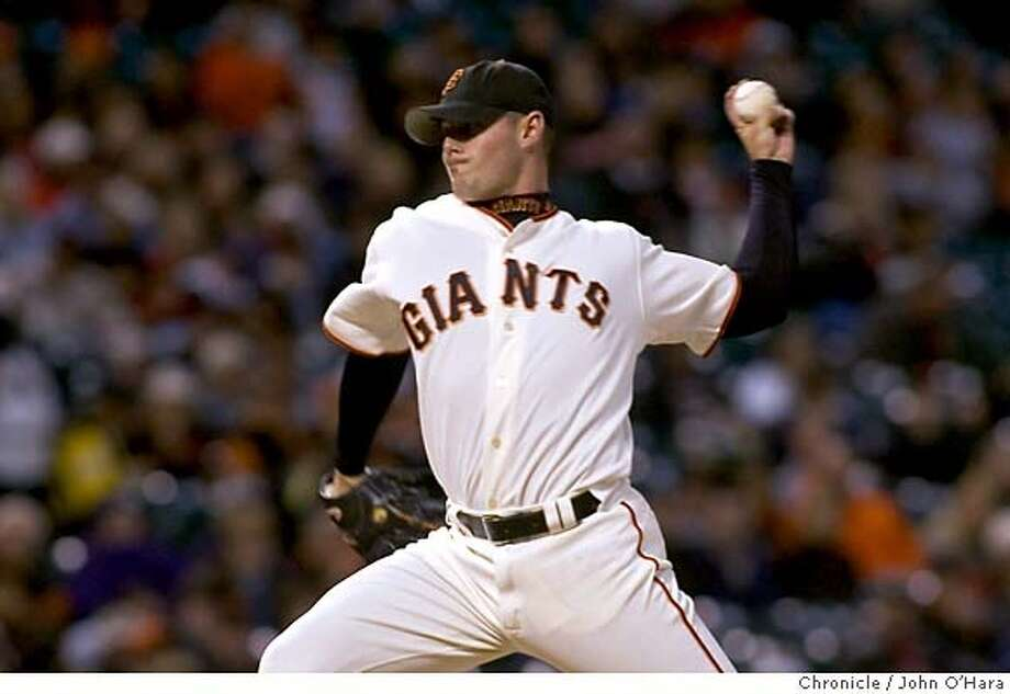 SBC Park, San Francisco, CA  09/13/05  Starting pitcher, #51 Noah Lowry  SF Giants V/S Sand Diego Padres.  Photo/John O'Hara Photo: John O'Hara