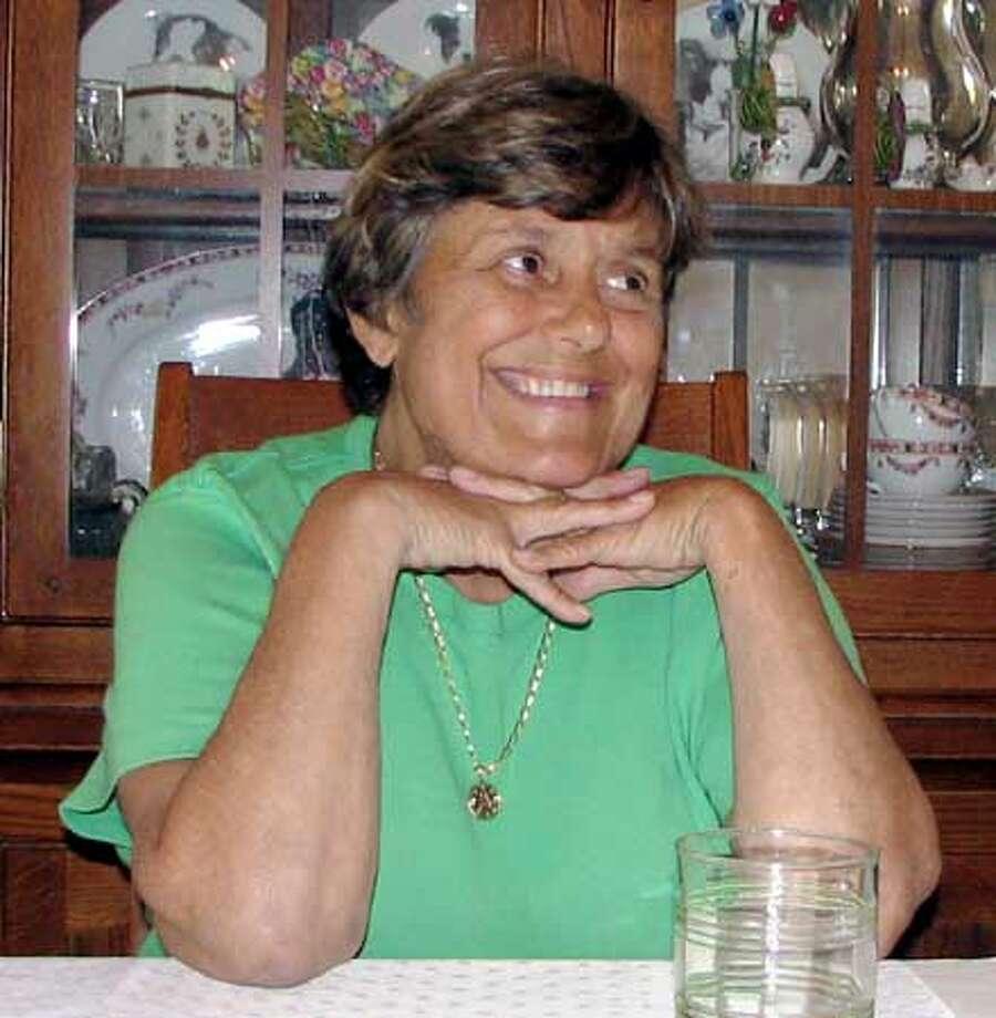 Obituari photo of Barbara Lorrain to run tomorrow or Wedneday. Ran on: 09-13-2005  Barbara Lorrain Photo: Family