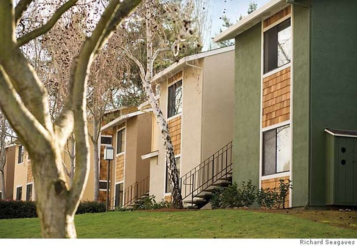 Exterior at the Highlands, a 188-unit condo to apartment conversion project in Benicia.