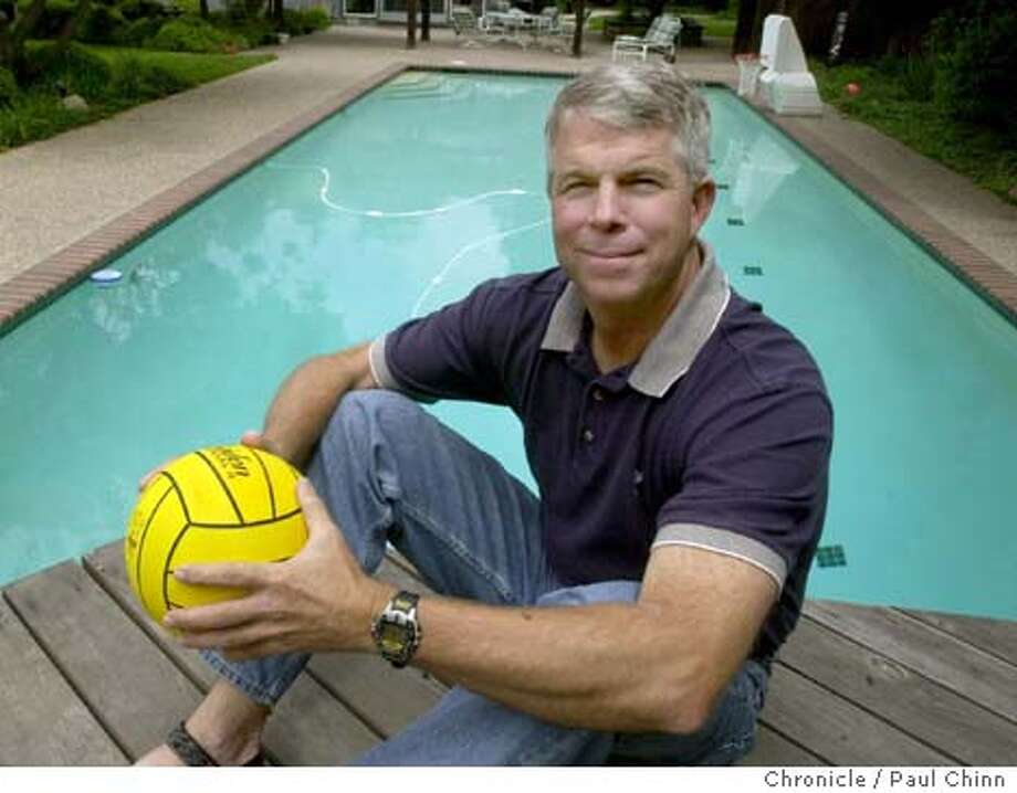 Former Cal water polo star Peter Schnugg at his home on 6/12/03 in Alamo. Schnugg will join his former teammates at a reunion to remember their years as national champions. PAUL CHINN / The Chronicle Photo: PAUL CHINN