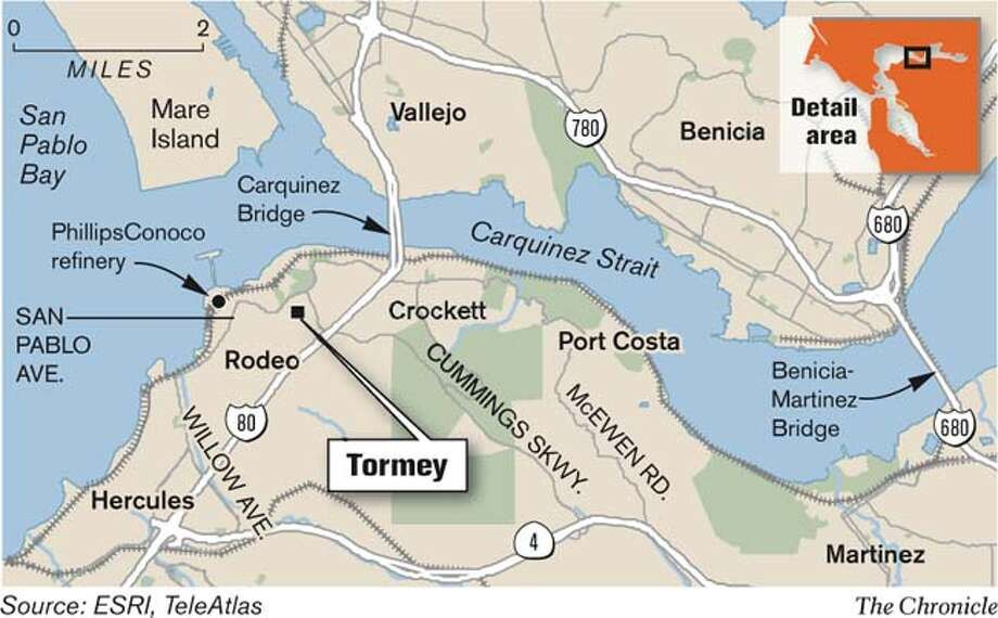 Tormey. Chronicle Graphic