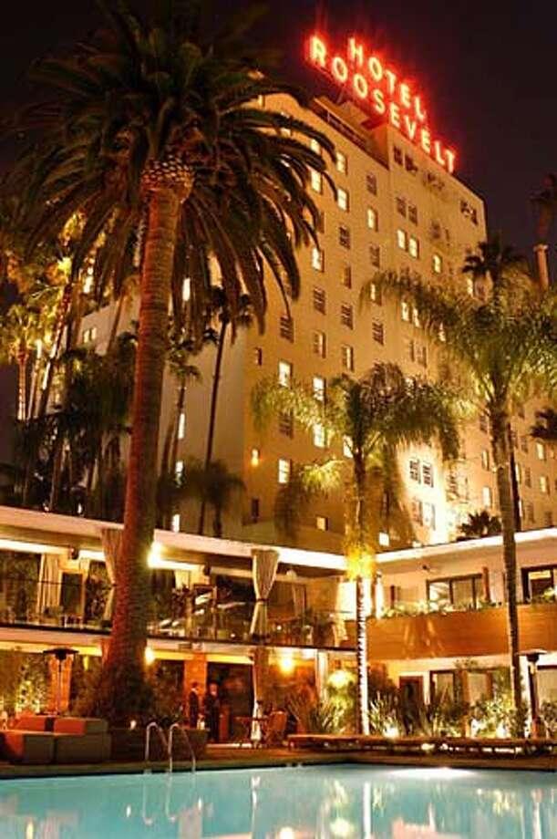 The Hollywood Roosevelt Hotel, August 14, 2005. photo: Mark Savage  www.marksavage.com  marksavagephoto@aol.com  310.367.4706  SLUG: .jpg Photo: Mark Savage