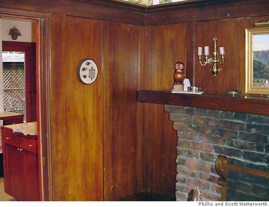 Redwood Paneling Needs Rejuvenation Sfgate