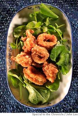 WORKING14_02JOHNLEE.JPG  Salt and Pepper Calamari.  By JOHN LEE/SPECIAL TO THE CHRONICLE