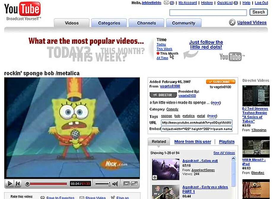 Viacom has sued YouTube for using its copyrighted content, a tactic newspapers might consider. Image via Associated Press