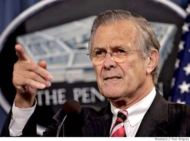 the case of donald rumsfeld and Former defense secretary donald rumsfeld tells 'on the record' why he is supporting trump in the november presidential election and what he thinks of his pla.