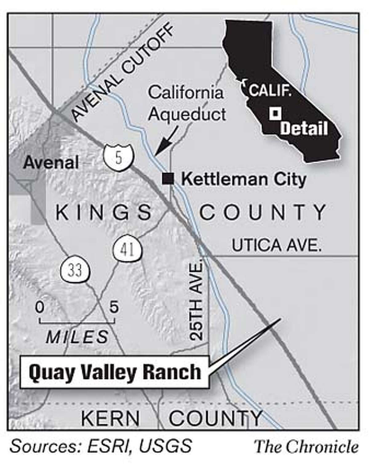 Quay Valley Ranch. Chronicle Graphic