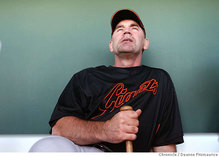giants_0302_df.jpg  Bruce Bochy is the new manager for the San Francisco Giants. The Giants prepare for the season with spring training workouts at Scottsdale Stadium. Photographed in Scottsdale on 2/15/07. Chronicle Photo / Deanne Fitzmaurice Ran on: 03-11-2007  New San Francisco manager Bruce Bochy should have no problem handling Barry Bonds, his former players at San Diego say. Photo: Deanne Fitzmaurice