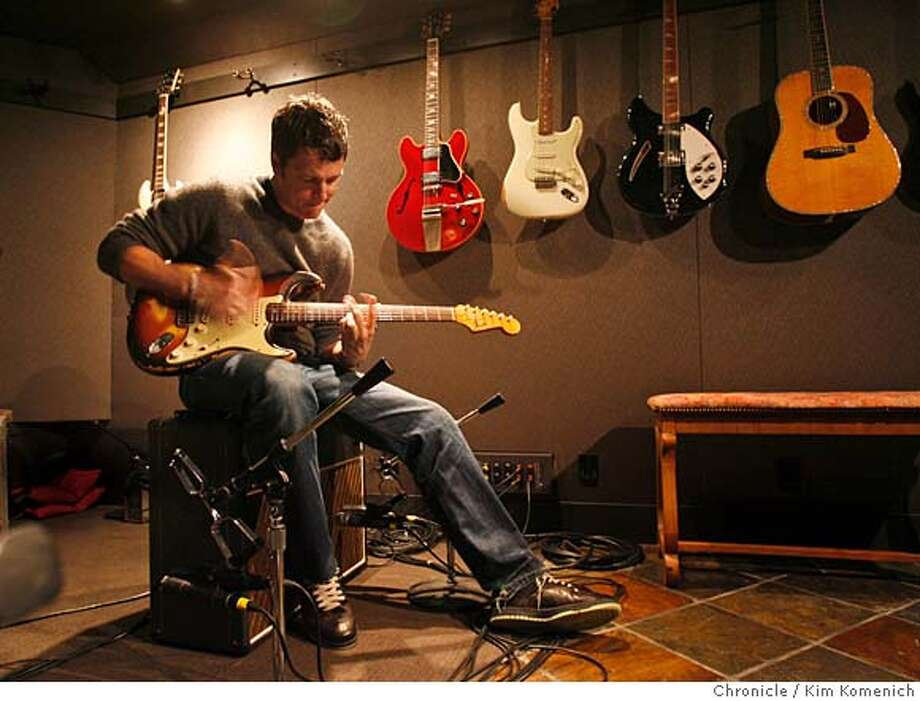 THIRDEYEBLIND_133_KK.JPG  Stephan Jenkins of Third Eye Blind is photographed in his San Francisco home/studio.  Photo by Kim Komenich/The Chronicle �2007, San Francisco Chronicle/ Kim Komenich  MANDATORY CREDIT FOR PHOTOG AND SAN FRANCISCO CHRONICLE. NO SALES- MAGS OUT. Photo: Kim Komenich