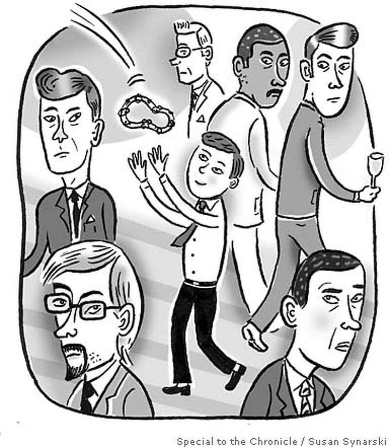 Nuptial No-No's. Illustration by Susan Synarski, special to the Chronicle