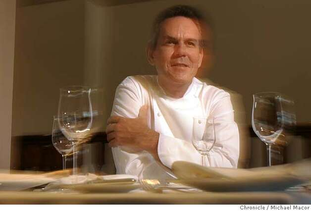 Thomas Keller, French Laundry We're reevaluating the four star restaurants for the cover of the Sept. 4 magazine. Please get portraits of the chefs listed below and a signature dish (chef's choice). (707) 944-8979 (or email Laura Cunningham at laura@frenchlaundry.com 7/26/05 Yountville, Ca Michael Macor / San Francisco Chronicle Photo: Michael Macor