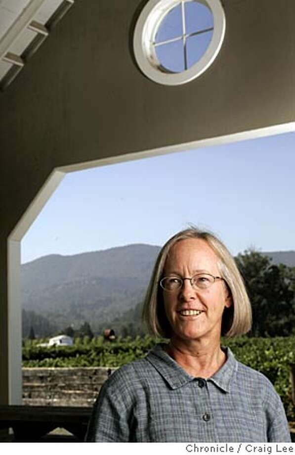 Napa Valley winemaker Cathy Corison at her Corison Winery. Event on 8/12/05 in Napa. Craig Lee / The Chronicle Photo: Craig Lee