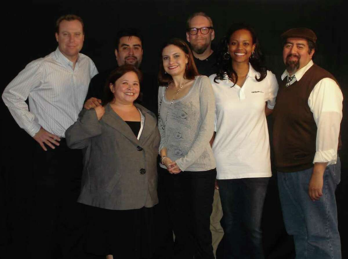 Pictured are the staff at G2E and some tenants, including from the back row on the left Scott Gilliam, Ron Garcia, Erik Bosse; in the front row from the left Selena Navarro, Nikki Young, Kenesha Brown and Robb Garcia.