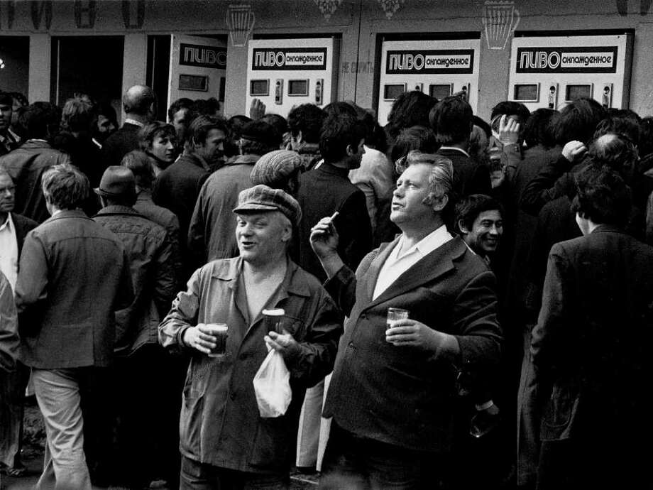 """From the Fotofest 2012 Biennial Show """"Contemporary Russian Photography 1950s-2012"""", in the exhibit """"After Stalin, The Thaw"""" at Williams Tower: Alexander Grashchenkov After the Shift, 1978 Courtesy of Lumiere Brothers Center for Photography, Moscow Photo: Alexander Grashchenkov"""