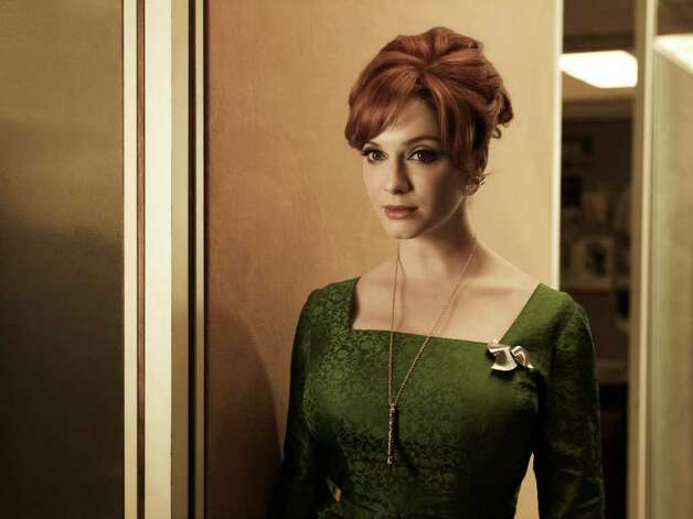 Joan Harris (Christina Hendricks) - Mad Men - Season 5 - Gallery - Photo Credit: Frank Ockenfels/AMC Photo: Frank Ockenfels/AMC / Copyright: AMC 2012