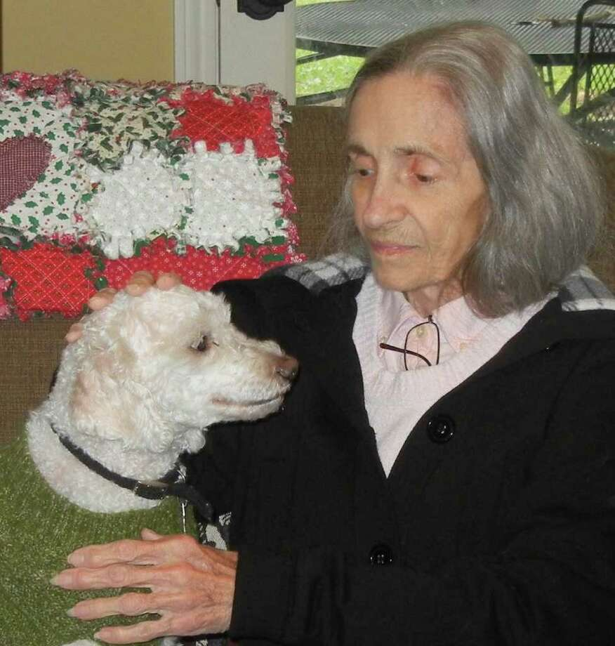 Madeleine Mitcham adopted Kenny, a former Pethouse Pet of the Week. Photo: Family Photo