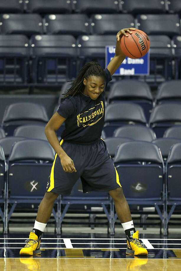 Cal junior point guard Eliza Pierre adjusted well in going from starting to a prime role off the bench. Photo: Charles Rex Arbogast, Associated Press