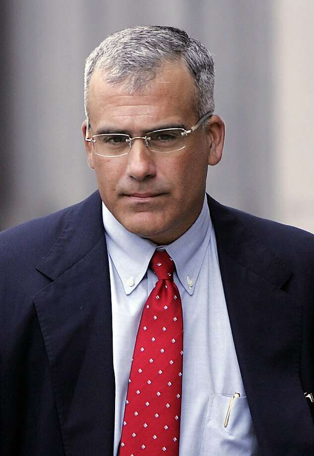 FILE - In this file photo made Aug. 6, 2006, Brocade Communications Systems Inc. former CEO Gregory Reyes leaves a federal courthouse in San Francisco. A federal judge on Thursday, June 24, 2010, sentenced Reyes to 18 months in prison in a stock options backdating case. Photo: Paul Sakuma, AP