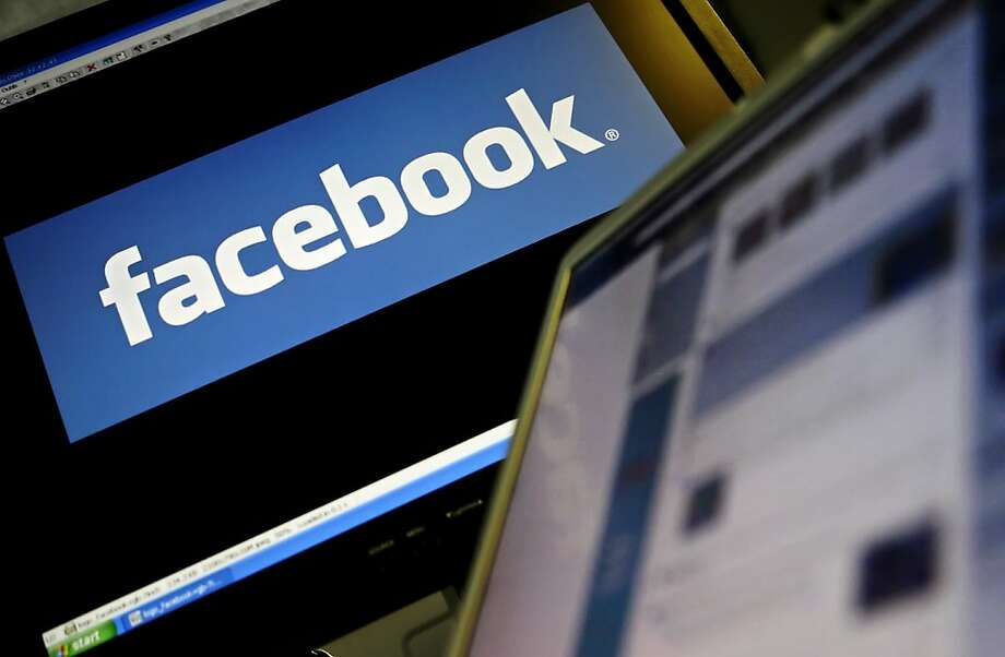 "(FILES) The logo of social networking website 'Facebook' is displayed on a computer screen in London, on December 12, 2007. Social network website Facebook, which has around 850 million users worldwide, went down in several mainly European countries on March 7, 2012 for around two hours, users and the company said. ""Today we experienced technical difficulties causing the site to be unavailable for a number of users in Europe,"" Facebook said in a statement. ""The issue has been resolved and everyone should now have access to Facebook. We apologise for any inconvenience.""  AFP PHOTO / LEON NEAL (Photo credit should read LEON NEAL/AFP/Getty Images) Photo: Leon Neal, AFP/Getty Images"