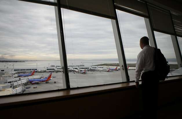 OAKLAND AIRPORT  Even if runways can be protected, roads to the airport could be inundated, planners say. Photo: Sean Culligan, The Chronicle