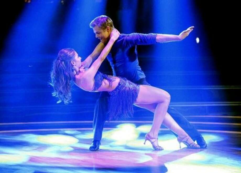 Maria Menounos and Derek Hough
