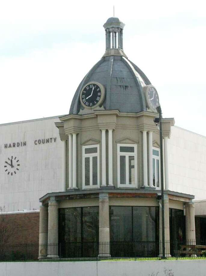 The replica Dome at Hardin County Courthouse Photo by David Lisenby Photo: David Lisenby, HCN_Drive