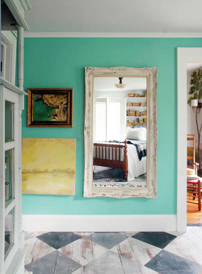 Mark and Lucianna Samu played used color and furniture (and an old stable door!) to completely transform their house. Read the story here. Photo: Photo By Mark Samu/Life@Home