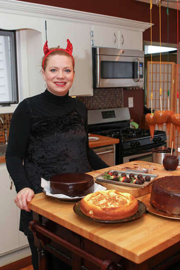 Susan Dunckel of Sweet Sues in Troy makes cupcakes and other baked goods, but what she really loves to make is candy. Read the story here. Photo: Photo By Krishna Hill/LIfe@Home