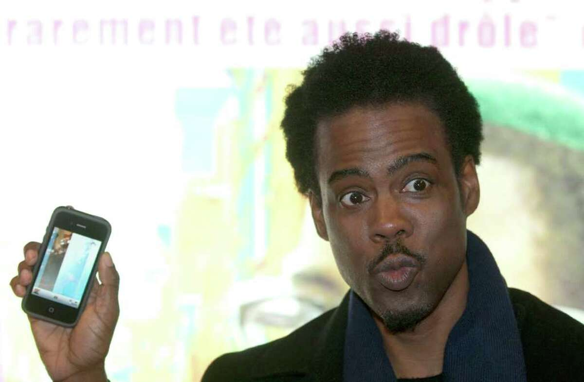 """U.S Actor Chris Rock attends at the Premiere of """"2 Days in New York"""" at the MK2 Paris movie cinema in Paris, France, Monday, March 19, 2012. (AP Photo/Jacques Brinon)"""