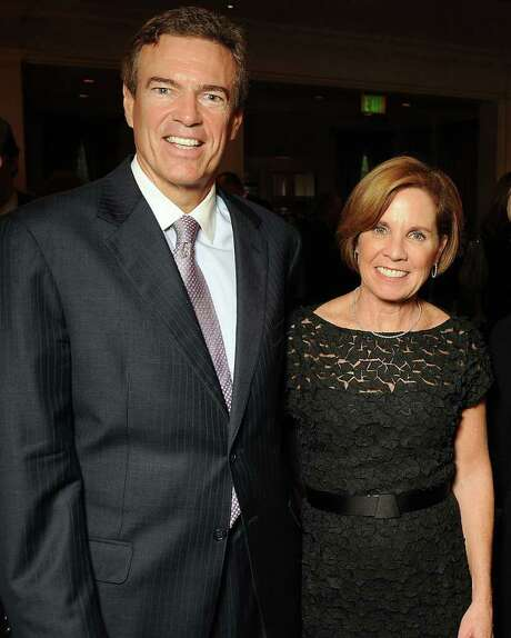 James and Maureen Hackett appeared at an event in 2011. Photo: Dave Rossman / © 2011 Dave Rossman