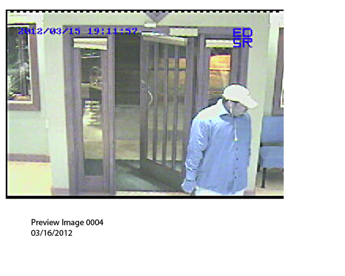 Police sent out this photo they say is taken from the Frank Adams jewelry store robbery on March 15. (Guilderland police)