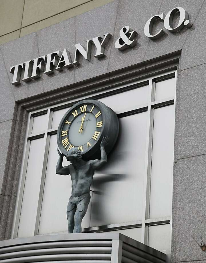"FILE - A Nov. 28, 2011 file photo, shows the exterior of Tiffany & Co. store in Santa Clara, Calif.    Michael J. Kowalski, chairman and chief executive officer of Tiffany & Co., said, ""Tiffany exceeded the goals that we had set at the start of 2011 for both sales and earnings growth, although we concluded the year with softer-than-expected results.  (AP Photo/Paul Sakuma, File) Photo: Paul Sakuma, Associated Press"