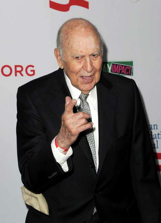 2000: Carl Reiner (Photo by Kevin Winter/Getty Images) Photo: Kevin Winter / 2012 Getty Images