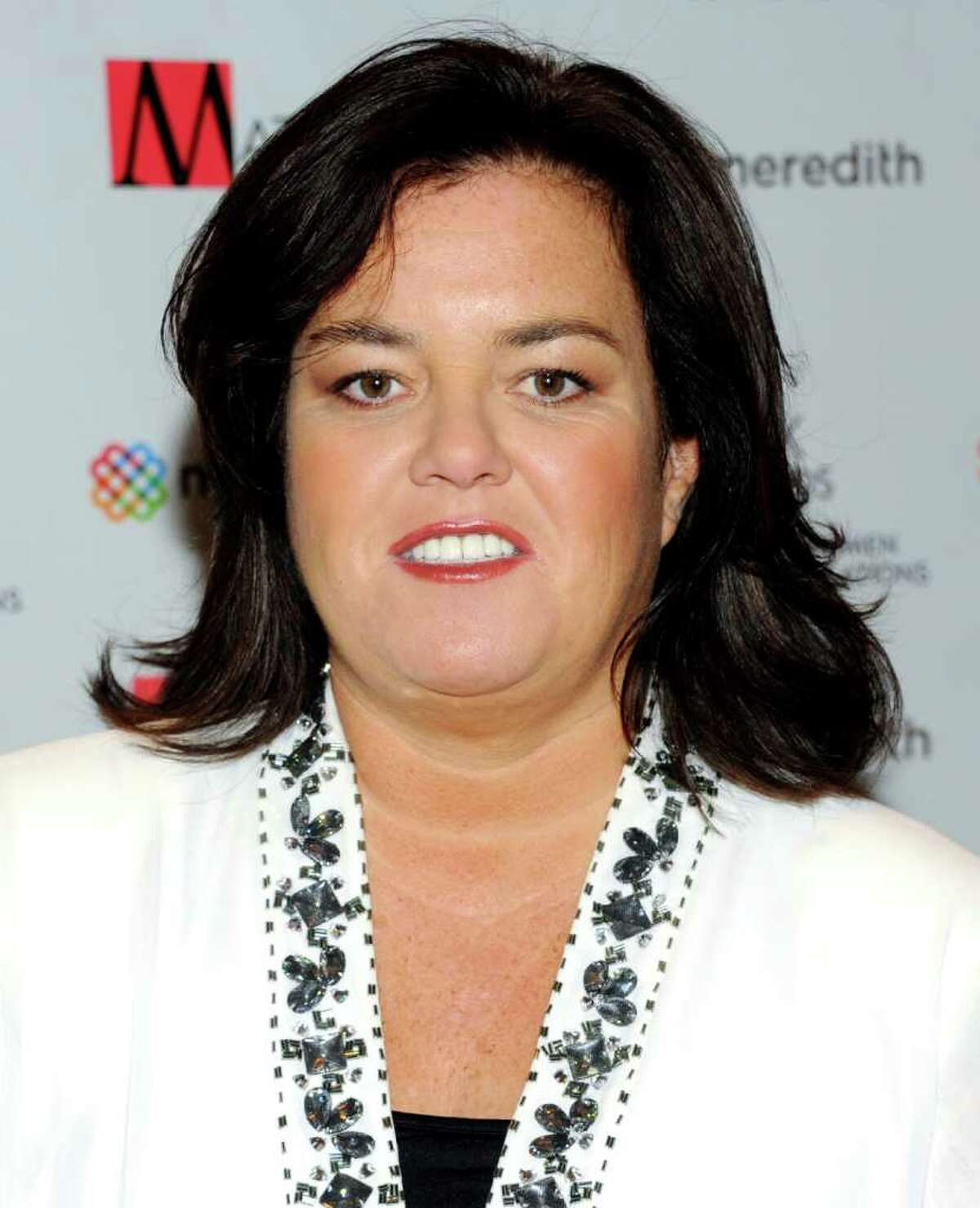 FILE - In this April 11, 2011 file photo, television personality Rosie O'Donnell attends the New York Women in Communications' 2011 Matrix Awards in New York. OA'A?'Donnell and her girlfriend, Michelle Rounds, are engaged. OA'A?'DonnellA'A?'s publicist and a spokesman for the Oprah Winfrey Network say the host of A'A?