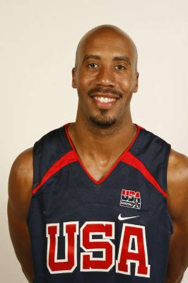 LAS VEGAS - JULY 20:  Bruce Bowen of the USA Basketball Men's Senior National Team poses for a portrait on July 20, 2006 at the Cox Pavilion in Las Vegas, Nevada.  NOTE TO USER: User expressly acknowledges and agrees that, by downloading and or using this photograph, User is consenting to the terms and conditions of the Getty Images License Agreement. Mandatory Copyright Notice: Copyright 2006 NBAE (Photo by Nathaniel S. Butler/NBAE via Getty Images) (NBAE/Getty Images)