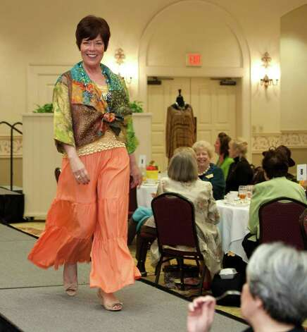 Fashion on the runway at the San Antonio Music Club annual style show and scholarship luncheon at Oak Hills Country Club, Friday, March 9, 2012. Photo: J. Michael Short , SPECIAL TO THE EXPRESS-NEWS / THE SAN ANTONIO EXPRESS-NEWS