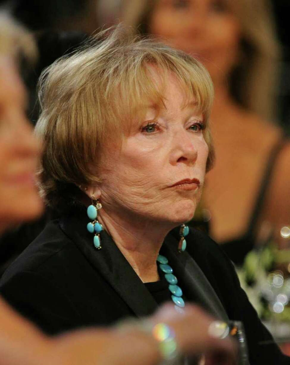 Actress Shirley MacLaine in the audience during the 38th AFI Life Achievement Award honoring Mike Nichols held at Sony Pictures Studios on June 10, 2010, in Culver City, Calif. (Frazer Harrison / Getty Images for AFI)