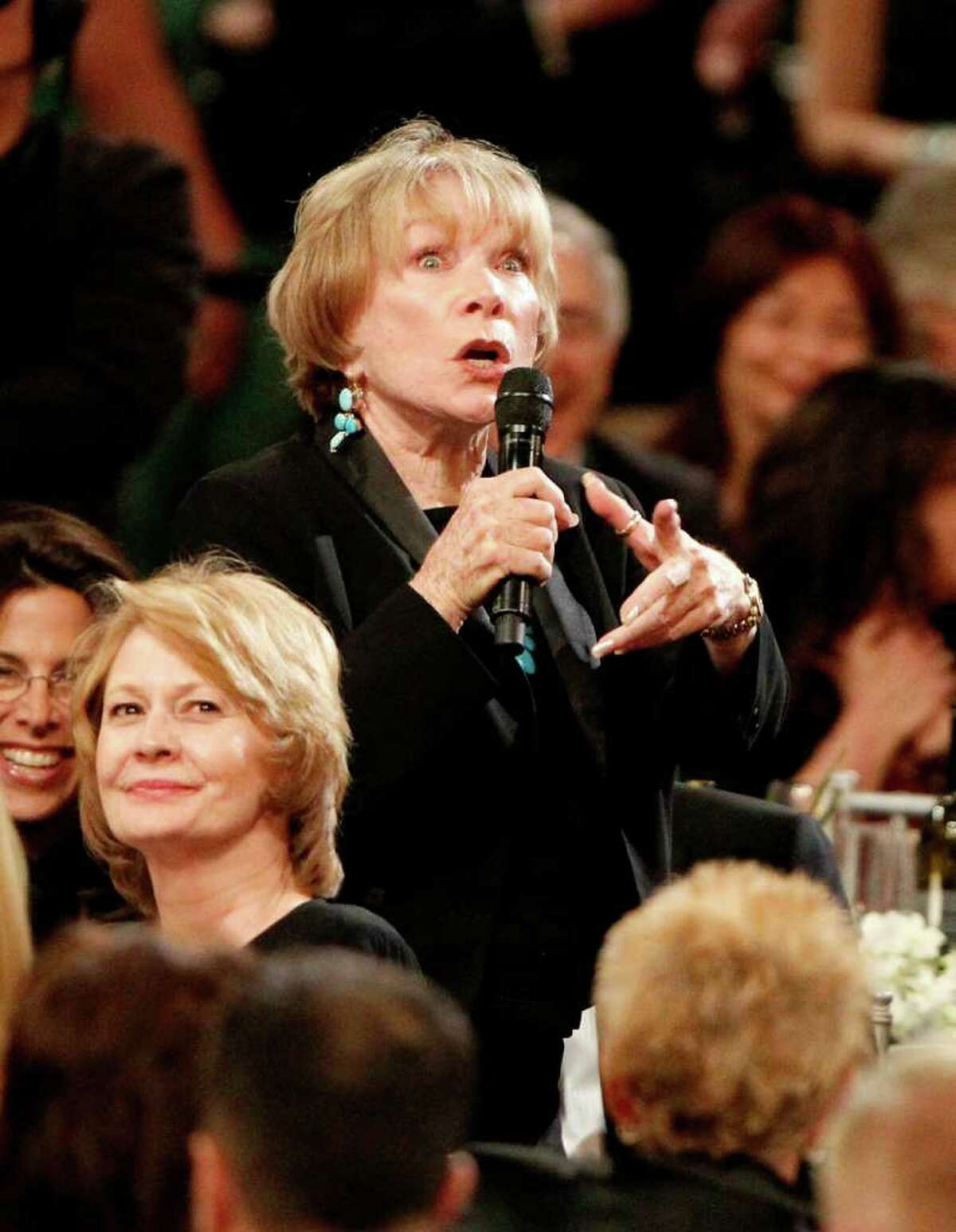 Actress Shirley MacLaine in the audience during the 38th AFI Life Achievement Award honoring Mike Nichols held at Sony Pictures Studios on June 10, 2010, in Culver City, Calif. (Christopher Polk / Getty Images for AFI)