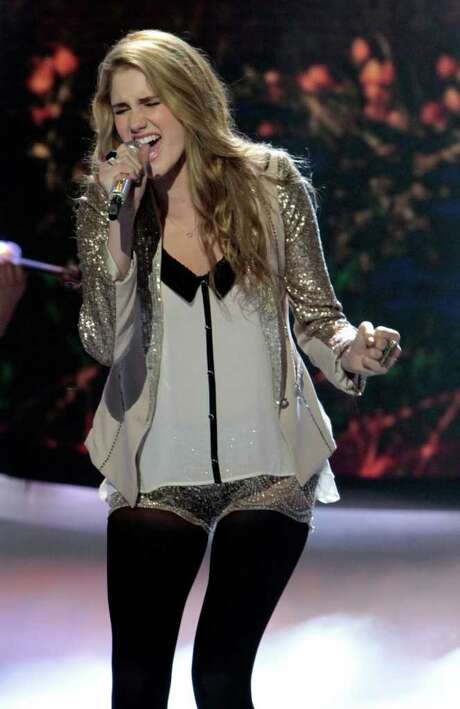 """""""American Idol"""" contestant Shannon Magrane was eliminated on March 15. That show was rated No. 2 for the week. Photo: Fox"""