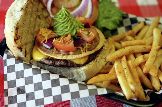 Old West Burgers, 4553 N.W. Loop 1604: Try the Chupacabra Cheese Burger. Because why not? www.oldwestburgers.com Photo: HELEN L. MONTOYA, San Antonio Express-News / ©SAN ANTONIO EXPRESS-NEWS