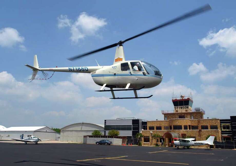 Suppliers for the nearby Toyota plant and oil and gas companies with operations in the Eagle Ford Shale are among the new customers at Stinson Municipal Airport. Photo: Express-News File Photo / SPECIAL TO THE EXPRESS-NEWS