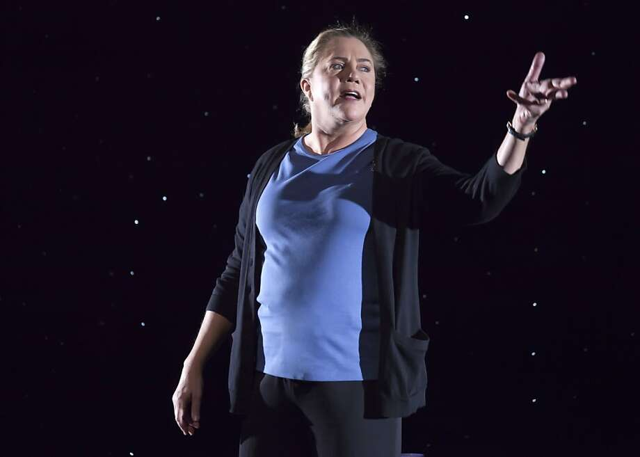 """Kathleen Turner 1.jpg Kathleen Turner plays Sister Jamie, a drug rehabilitation counselor, in the new play """"High"""" coming to the Curran Theatre. Photo courtesy SHN Photo: Courtesy SHN, Courtesy Shn"""