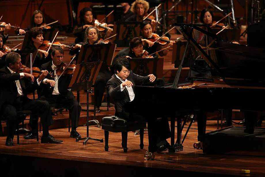 Pianist Lang Lang during the100th anniversary of the SF Symphony in San Francisco, Calif., on Wednesday, September 7, 2011. Photo: Liz Hafalia, The Chronicle