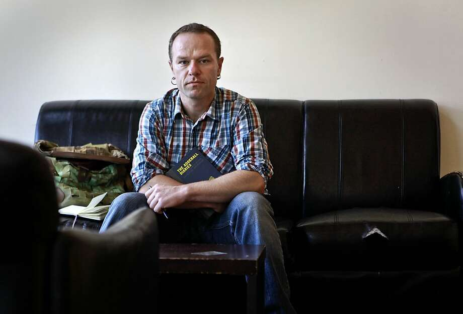 "Author Stephen Elliott established TheRumpus.net in 2009 to call attention to his memoir ""The Adderall Diaries."" Photo: Michael Macor, The Chronicle"