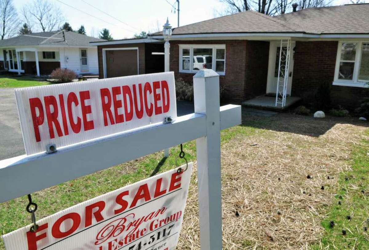 House for sale at 112 Whiteview Road in Wynantskill Wednesday March 21, 2012. (John Carl D'Annibale / Times Union)