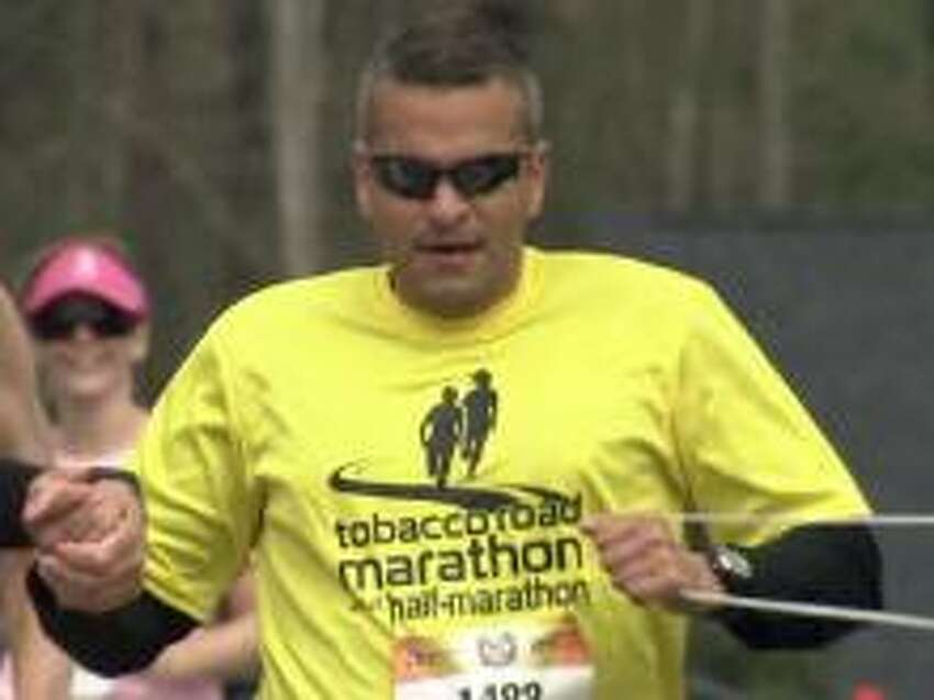 Capt. Ivan Castro of North Carolina, the only blind officer serving in the U.S. Army Special Forces, will lead a 5K race at 10 a.m. Saturday at Riverfront Park in Albany.