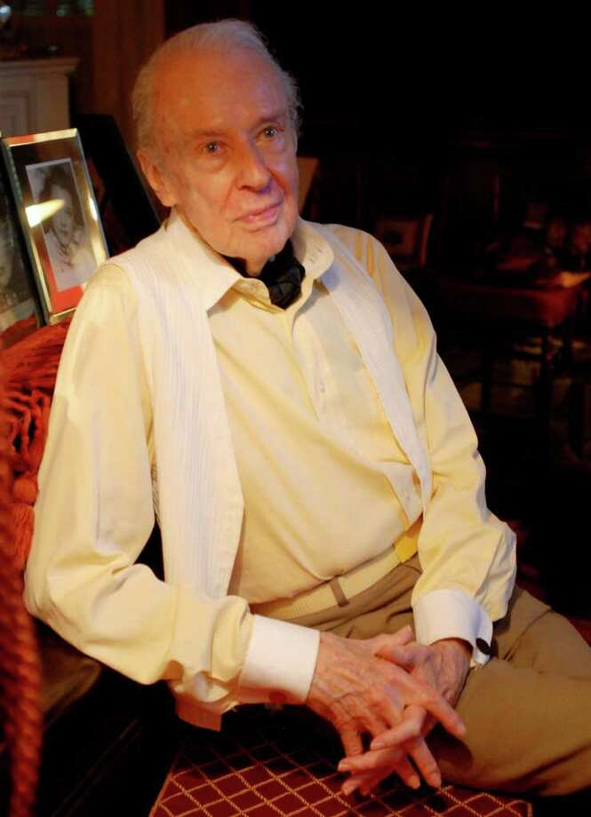 Broadway actor/portrait photographer Cris Alexander, pictured on June 28, 2009 in the Saratoga Springs home he shared with Shaun O'Brien, a former New York City Ballet dancer and his companion of 61 years. O'Brien died at 86 on Feb. 23, 2012. Alexander died just 13 days later, at 92, on March 7, 2012. (Luanne M. Ferris / Times Union) Photo: LUANNE M. FERRIS / 00004529A