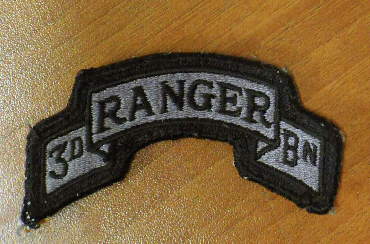 Union College men's hockey coach Rick Bennett's patch a gift from a
