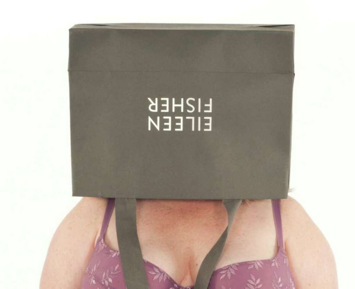 The recently launched 'Old Bags' project, which features photographs of women in their underwear who are wearing shopping bags over their heads, is a collaborative effort between artists Lori Petchers and Faith Baum, who hope to explore the invisibility many contemporary American women begin to feel as they enter midlife.