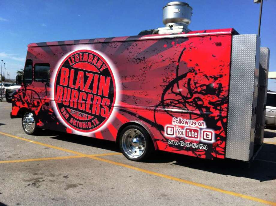 Blazin' Burgers food truck Photo: Courtesy Photo